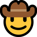 Cowboy Hat Face on Microsoft Windows 10 April 2018 Update