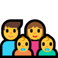 Family: Man, Woman, Baby, Baby on Microsoft Windows 10 April 2018 Update