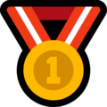 1st Place Medal on Microsoft Windows 10 April 2018 Update