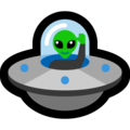 Flying Saucer on Microsoft Windows 10 April 2018 Update