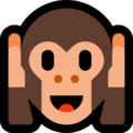 Hear-No-Evil Monkey on Microsoft Windows 10 April 2018 Update