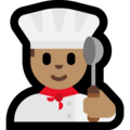 Man Cook: Medium Skin Tone on Microsoft Windows 10 April 2018 Update