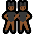 Men With Bunny Ears Partying, Type-5 on Microsoft Windows 10 April 2018 Update
