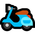 Motor Scooter on Microsoft Windows 10 April 2018 Update