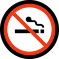 No Smoking on Microsoft Windows 10 April 2018 Update