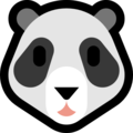 Panda Face on Microsoft Windows 10 April 2018 Update