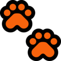 Paw Prints on Microsoft Windows 10 April 2018 Update