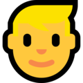 Blond-Haired Person on Microsoft Windows 10 April 2018 Update