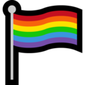 Rainbow Flag on Microsoft Windows 10 April 2018 Update