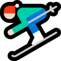 Skier, Type-1-2 on Microsoft Windows 10 April 2018 Update