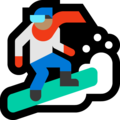 Snowboarder: Medium Skin Tone on Microsoft Windows 10 April 2018 Update
