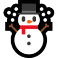 Snowman on Microsoft Windows 10 April 2018 Update