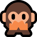 Speak-No-Evil Monkey on Microsoft Windows 10 April 2018 Update