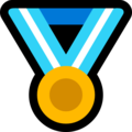 Sports Medal on Microsoft Windows 10 April 2018 Update
