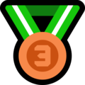 3rd Place Medal on Microsoft Windows 10 April 2018 Update