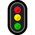 Vertical Traffic Light on Microsoft Windows 10 April 2018 Update