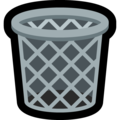 Wastebasket on Microsoft Windows 10 April 2018 Update