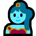 Woman Genie on Microsoft Windows 10 April 2018 Update