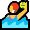 Woman Playing Water Polo on Microsoft Windows 10 April 2018 Update