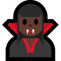 Woman Vampire: Dark Skin Tone on Microsoft Windows 10 April 2018 Update