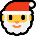 Santa Claus on Microsoft Windows 10 Creators Update