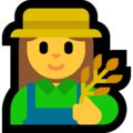 Woman Farmer on Microsoft Windows 10 Creators Update