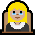 Woman Judge: Medium-Light Skin Tone on Microsoft Windows 10 Creators Update