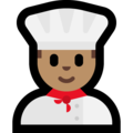 Man Cook: Medium Skin Tone on Microsoft Windows 10 Creators Update