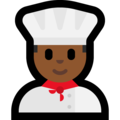 Man Cook: Medium-Dark Skin Tone on Microsoft Windows 10 Creators Update