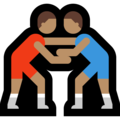 Men Wrestling, Type-4 on Microsoft Windows 10 Creators Update