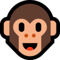 Monkey Face on Microsoft Windows 10 Creators Update