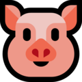Pig Face on Microsoft Windows 10 Creators Update