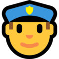 Police Officer on Microsoft Windows 10 Creators Update
