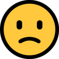 Slightly Frowning Face on Microsoft Windows 10 Creators Update