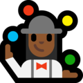 Woman Juggling: Medium-Dark Skin Tone on Microsoft Windows 10 Creators Update