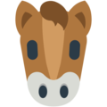 Horse Face on Mozilla Firefox OS 2.5