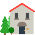 House With Garden on Mozilla Firefox OS 2.5