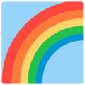Rainbow on Mozilla Firefox OS 2.5
