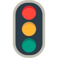 Vertical Traffic Light on Mozilla Firefox OS 2.5
