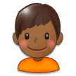 Boy: Medium-Dark Skin Tone on Samsung Experience 8.5 (Galaxy Note S8)