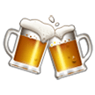 Clinking Beer Mugs on Samsung Galaxy S8 (April 2017)