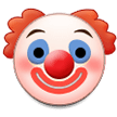 Clown Face on Samsung Galaxy S8 (April 2017)