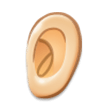 Ear: Light Skin Tone on Samsung Galaxy S8 (April 2017)