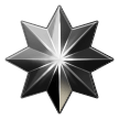 Eight-Pointed Star on Samsung Galaxy S8 (April 2017)