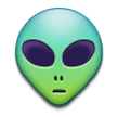 Alien on Samsung Galaxy S8 (April 2017)