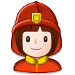 Woman Firefighter on Samsung Experience 8.5 (Galaxy Note S8)
