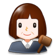 Woman Judge on Samsung Experience 8.5 (Galaxy Note S8)