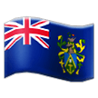 Pitcairn Islands on Samsung Galaxy S8 (April 2017)