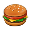 Hamburger on Samsung Galaxy S8 (April 2017)