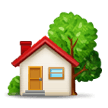 House With Garden on Samsung Experience 8.5 (Galaxy Note S8)
